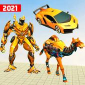 大骆驼机器人变形
