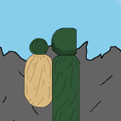 懒散的攀岩者
