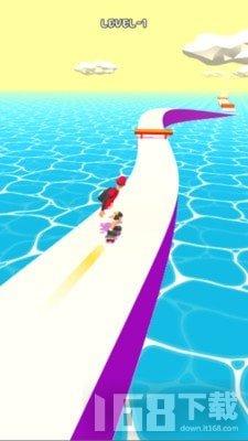 滑板鞋溜冰者