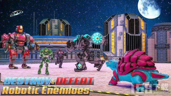 龟兔机器人战斗