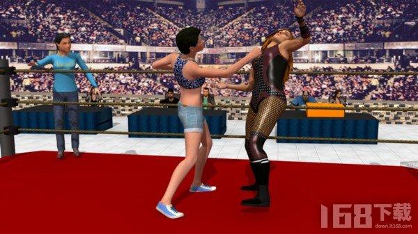 女汉纸摔跤冠军