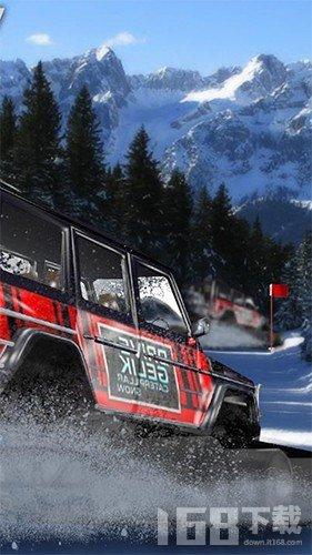 登山雪地越野车