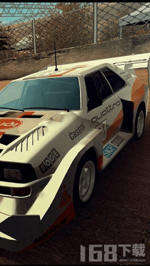 拉力赛车进化