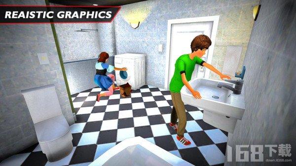 虚拟日常家庭模拟器