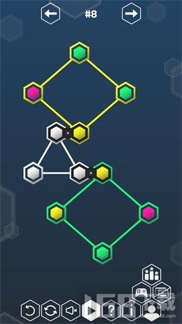 六边形无限循环