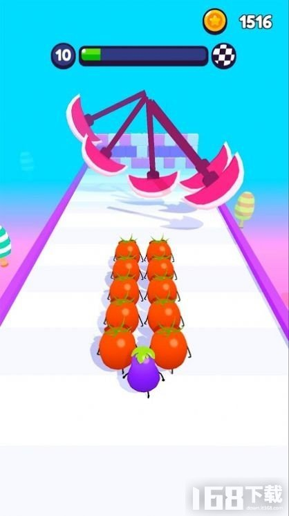 水果障碍竞赛3D