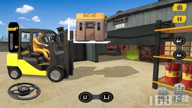 真正的叉车模拟