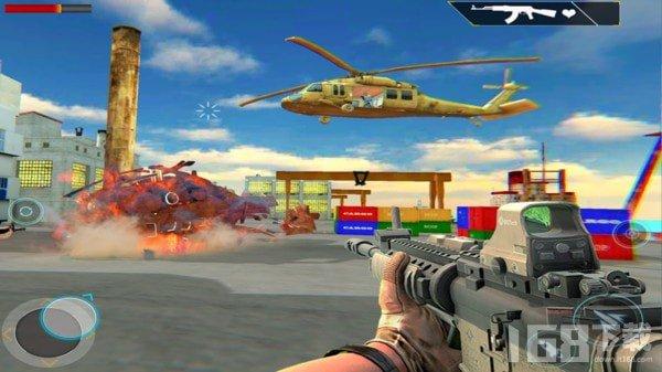 直升机狙击手