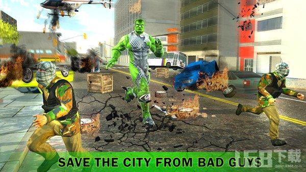变异城市英雄