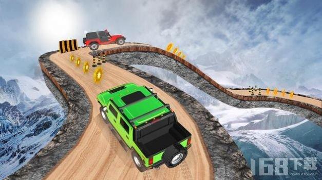 越野吉普车驾驶特技3D