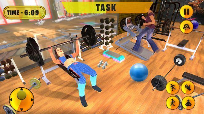 虚拟健身房教练单身妈妈