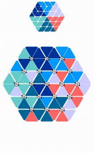 六色谜盘之旋转拼图