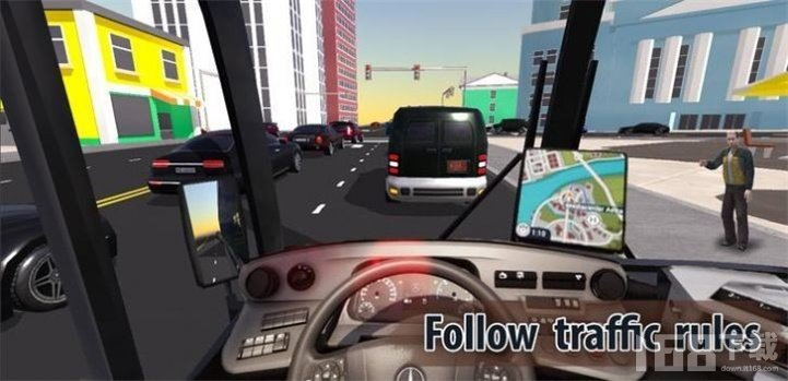 城市巴士司机传说