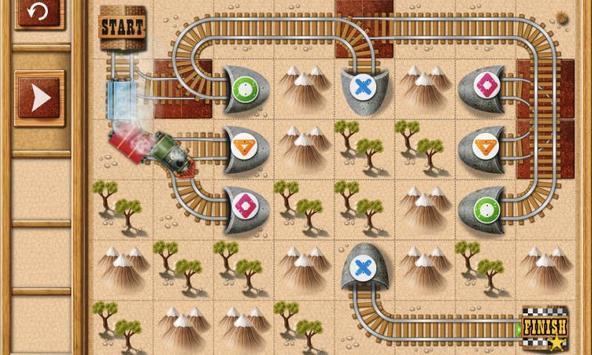 火车拼图迷宫