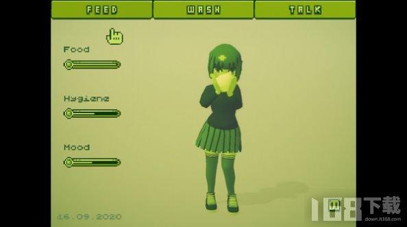 电子女孩游戏