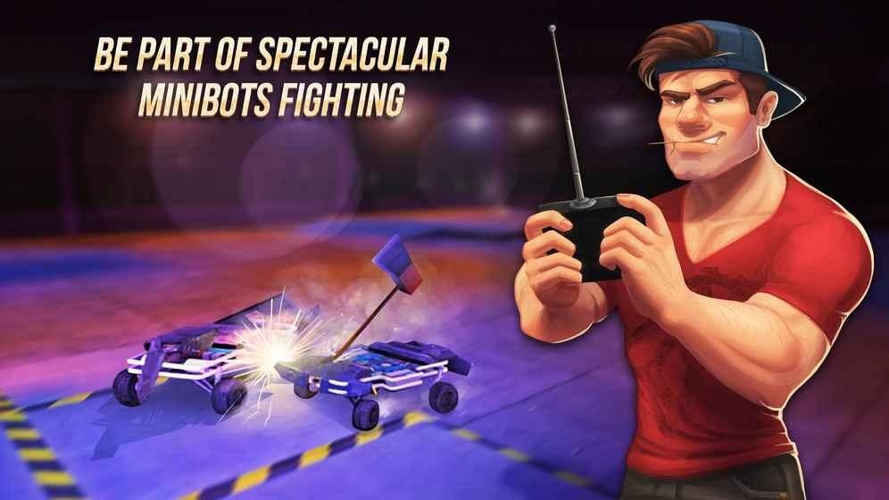 碰碰机器人2迷你机器人战斗
