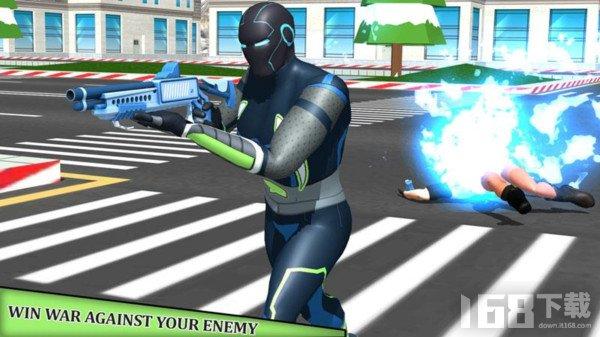 超级英雄绝地战场
