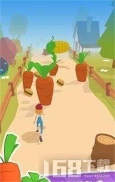 穿越蔬菜道