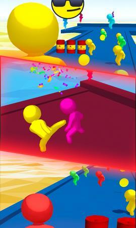 巨型冲突加入并奔跑3D