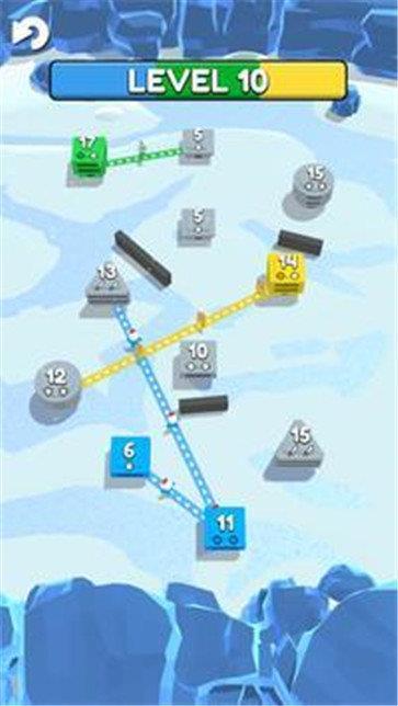 管道连接城市