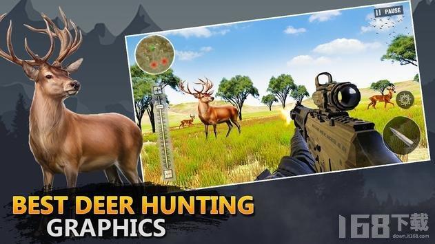野生鹿猎人