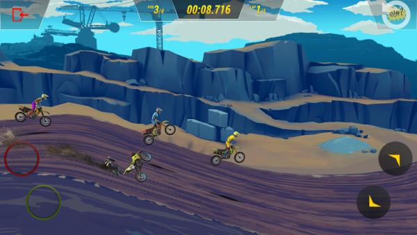 疯狂越野摩托3