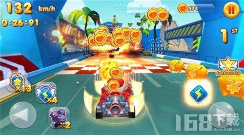 儿童超人赛车