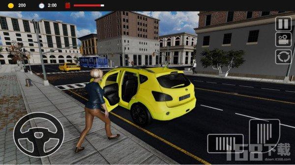 疯狂出租车模拟器