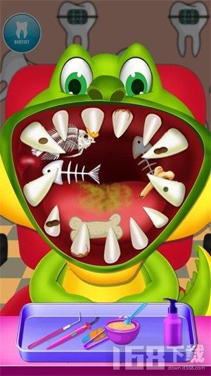 儿童恐龙牙医