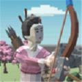 女弓箭手防卫战游戏