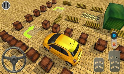 现代汽车驾驶停车