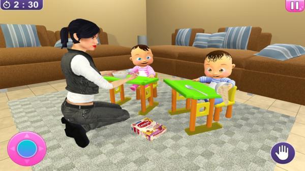 双胞胎婴儿模拟器
