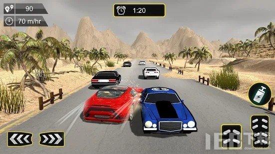 高速公路交通赛