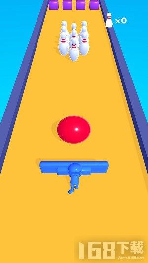 弹击保龄球