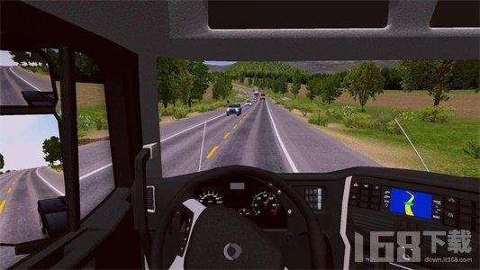 快速卡车驾驶员