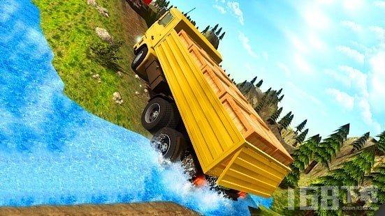城市货运卡车