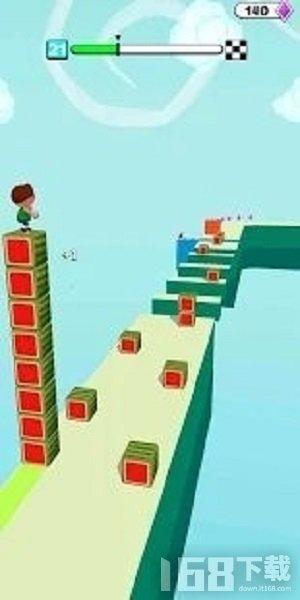 立方体塔冲浪者3D