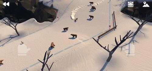 高山滑雪冒险