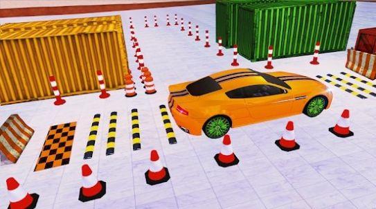 3D街头停车场