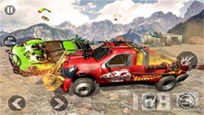 顶级汽车自由火力战场