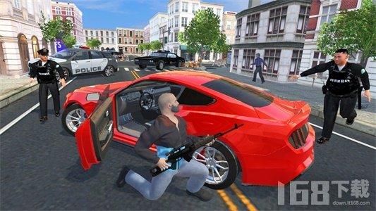 犯罪模拟器盗窃汽车