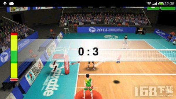 3D排球运动