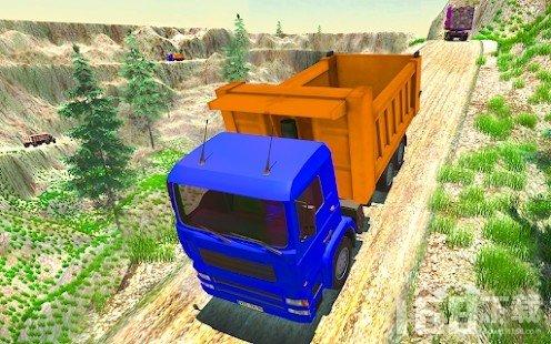 丘陵轨道卡车