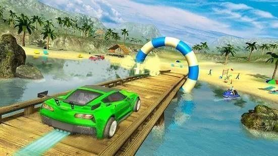 沙滩冲浪赛车