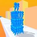 人群塔3D