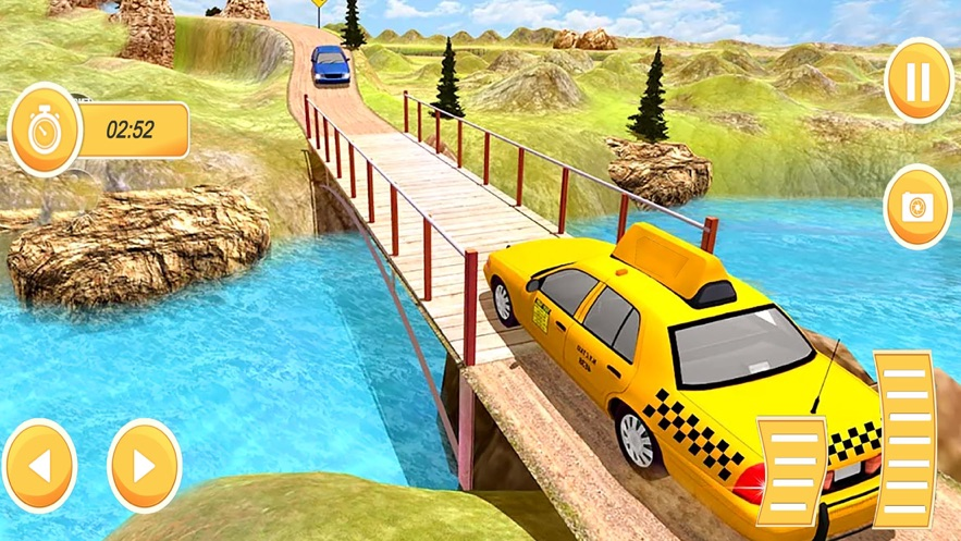 雪出租车驾驶模拟器