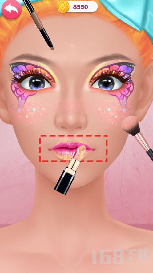美妆博主护肤美容挑战